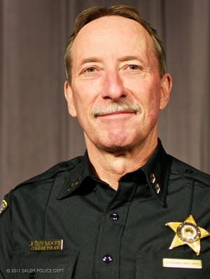 Jerry Moore, Salem Police Department chief