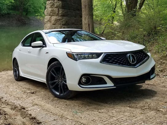 The A-Spec is a wicked-looking variation of Acura's
