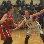 M-E girls pull away from Owego in second half