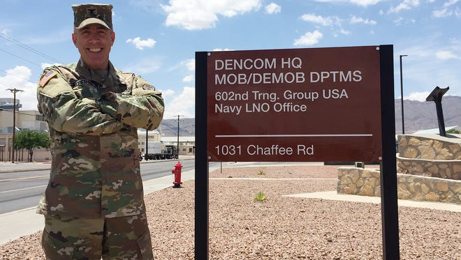 Col. Mike Roberts took command of Dental Command Central on June 1. He and his team oversee 43 Army dental clinics.