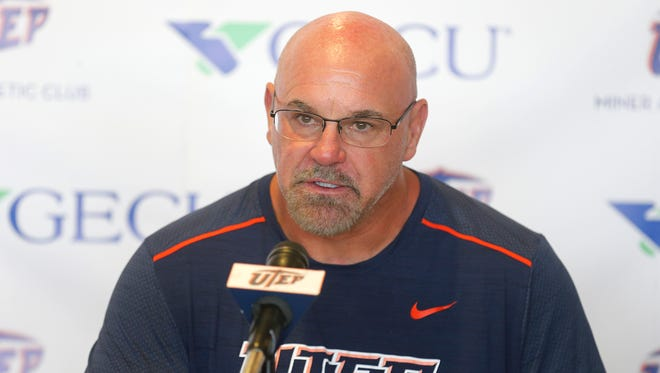 UTEP head coach Sean Kugler discussed his teams seventh loss of the season and said they have two more games left on the season and the teams focus is winning those two games. When asked if he would consider taking his team to a bowl game if they won out and ended the season with a record of 5-7, Kugler responded that he would consider it.