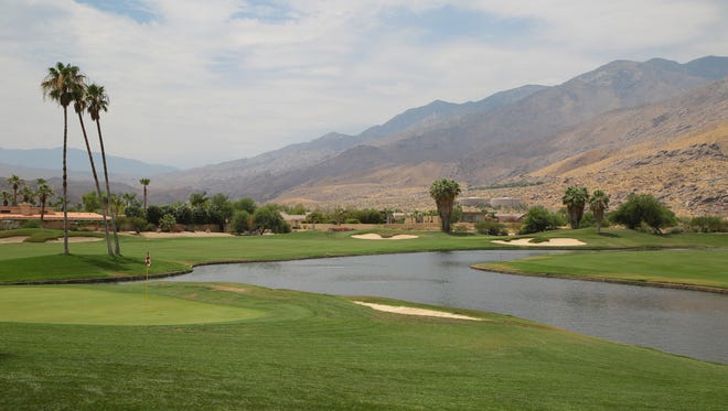 The Indian Canyons golf resort is on the Agua Caliente Indian Reservation in Palm Springs, Calif., Wed. July, 5, 2017.