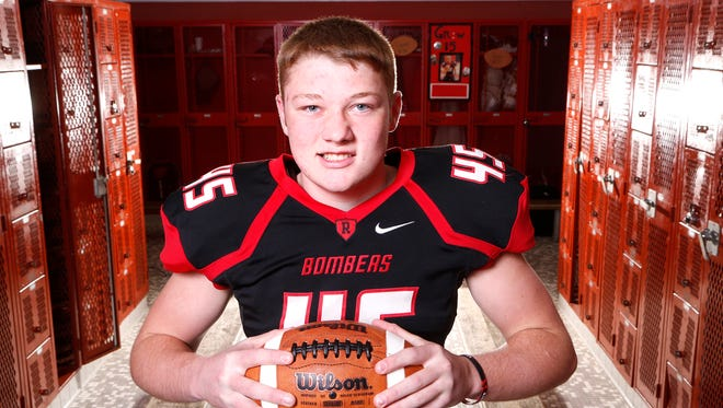 Ben Korniak of Rensselaer High School is the 2017 Journal & Courier Small School Defensive Player of the Year for football.