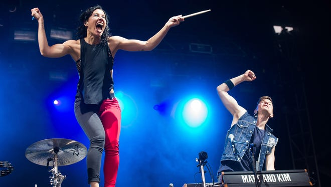 Matt and Kim will be performing at the Cayuga Sound Festival.