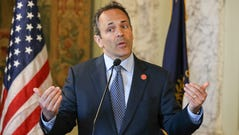 Kentucky Gov. Matt Bevin announced he would veto the