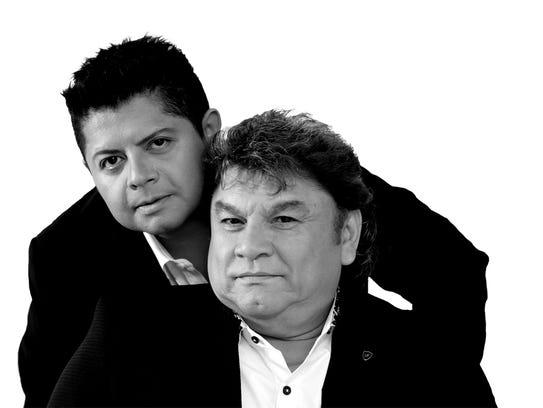 José Manuel Zamacona y su hijo del mismo nombre.