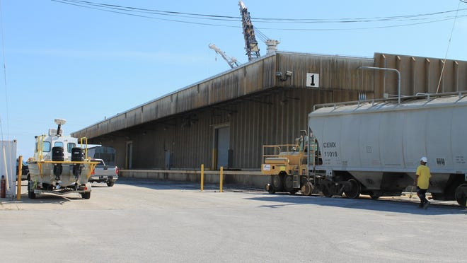 Port of Pensacola Warehouse No. 1.