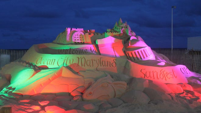 Building sand sculptures is a simple beach activity, but Sandfest takes it up a notch. The event runs Aug. 24-30 in Ocean City.