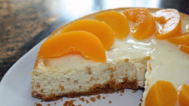 Peachy King Cheesecake