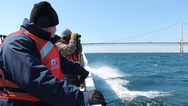 The Coast is investigating a mineral oil spill from April in the Straits of Mackinac. On Thursday, May 24, 2018, Michigan Gov. Rick Snyder issued an emergency rule banning ships from dropping anchor in the straits.