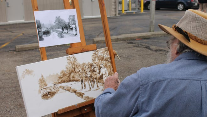 Local artists will have a chance to display their talents at Art on the Alley.