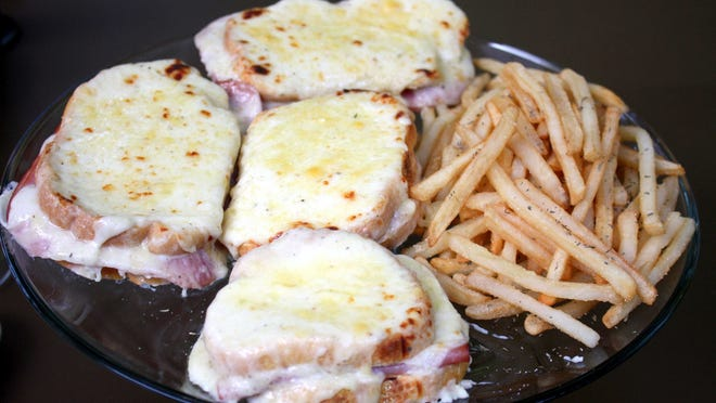 Croque Monsieur with Frittes.