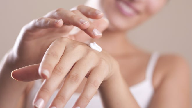 Rubbing lotion into your skin is better than spraying it in public.