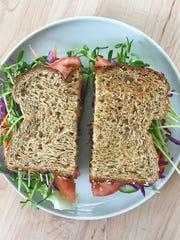 No-cook salad sandwich