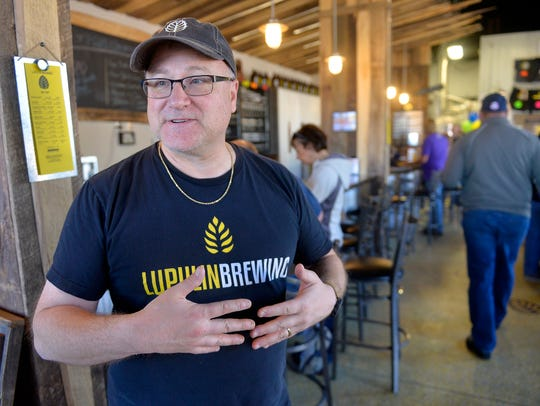 Jeff Zierdt, co-founder and president of Lupuline Brewing