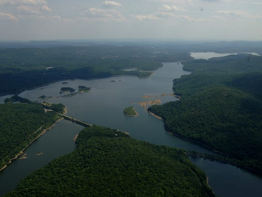 The Wanaque Reservoir, looking to the southeast.
