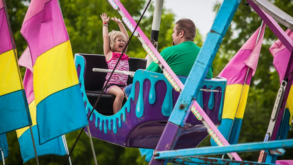 Locals attend the 2015 Yorktown Fourth of July Festival.