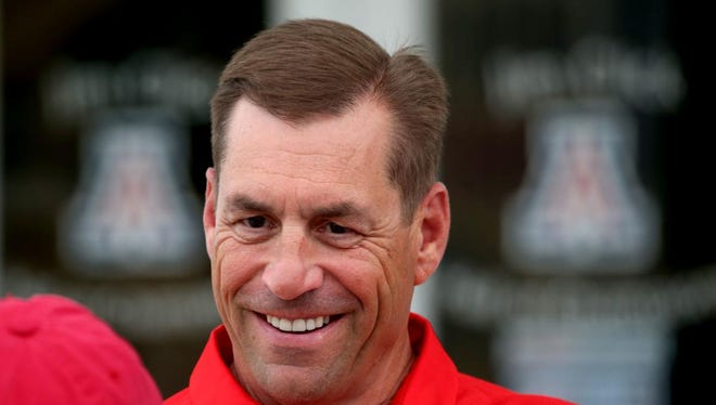 Arizona AD Dave Heeke reiterated Wednesday that he had the final say when it came to hiring a football coach.
