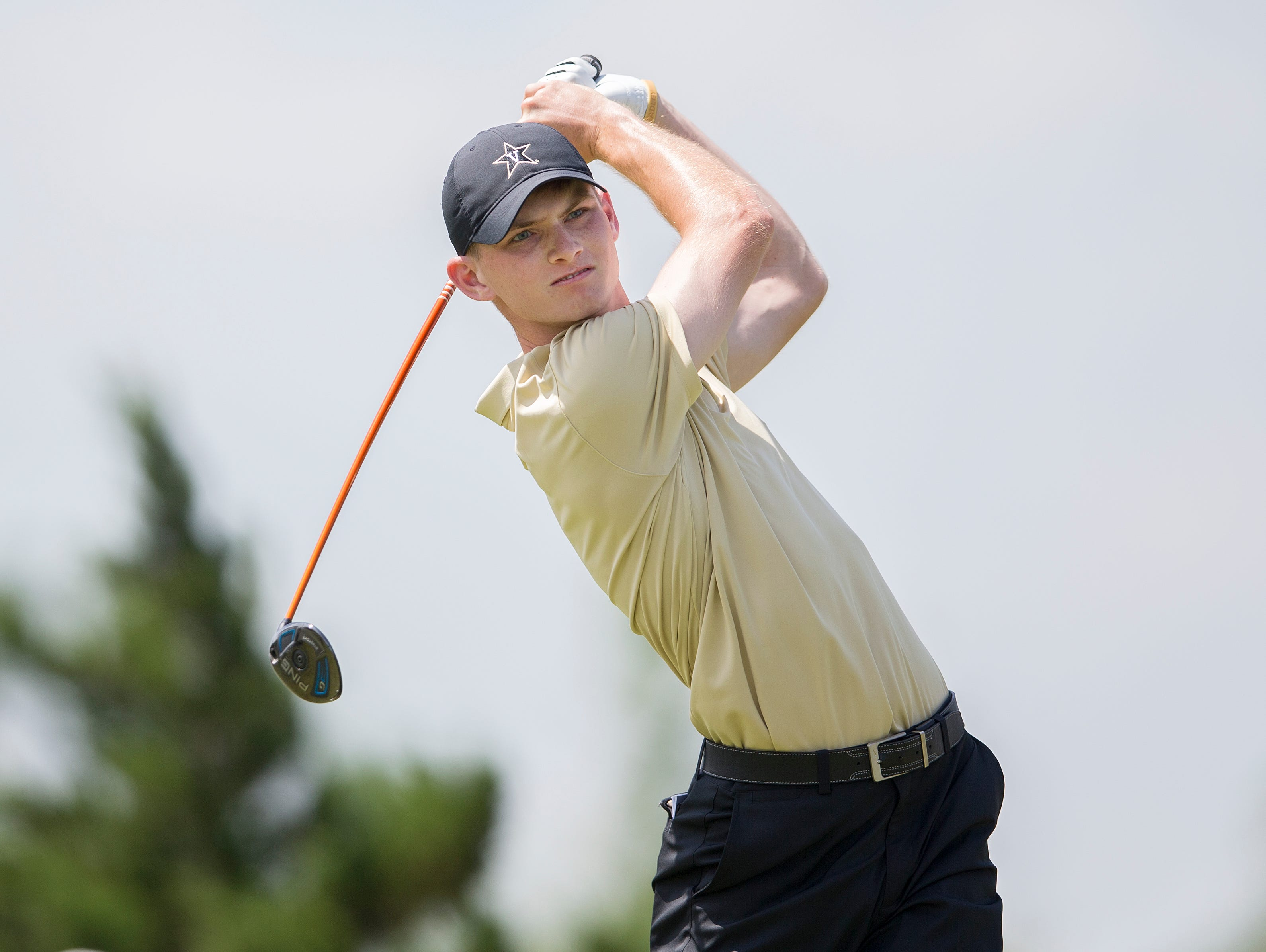 Vanderbilt golfer Patrick Martin