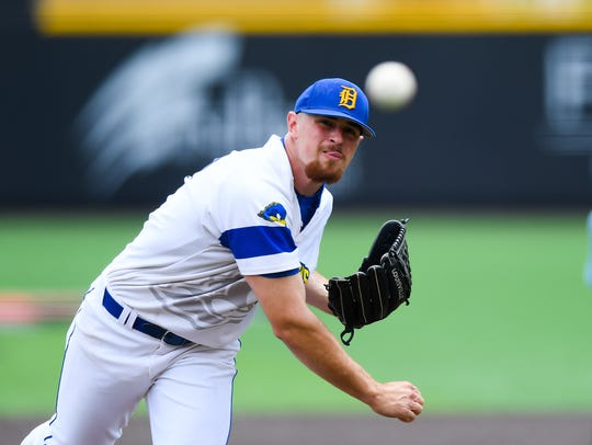 Delaware starter Nick Spadafino allowed four hits and