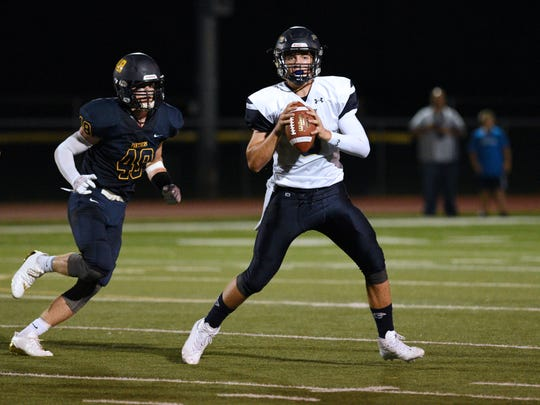 Ramsey at Pequannock in North Jersey Super Football