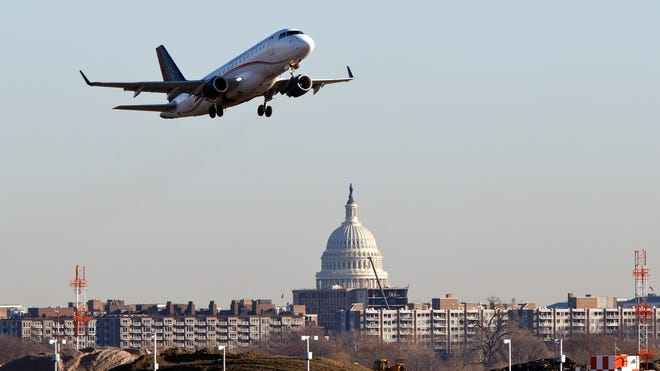 The cost of free trips taken by members of Congress rose last year.