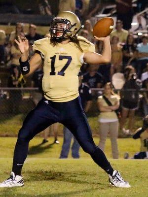 Sycamore quarterback J.J. Ivey returns as the War Eagles' starting quarterback.