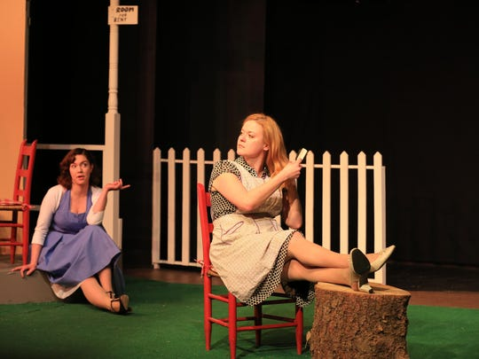 Emma Orr and Ashley Thompson in Chapel Street's 'Picnic'