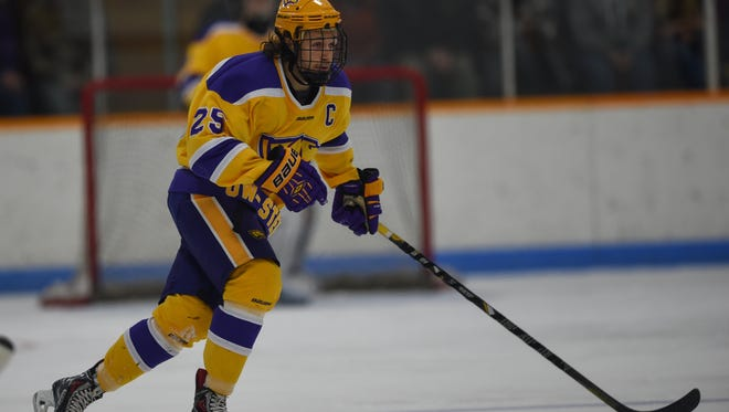 University of Wisconsin-Stevens Point senior captain Evan Dixon leads the Pointers into the Division III Frozen Four for the third consecutive season.