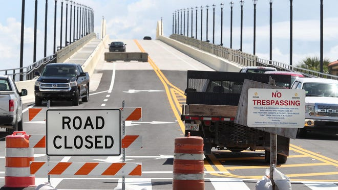 "After four years of construction, the new Orange Avenue bridge still isn't ready to open, a delay that has sparked impatience among some residents and merchants. ""It has been a ridiculously long time,"" said Virginia Hamilton, community association manager at Riverplace One Hundred condominium on the east end of the bridge. ""It has created quite a mess for us."""