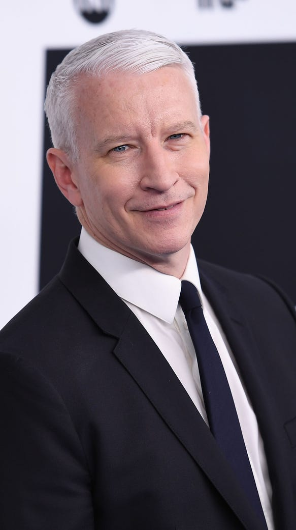 Anderson Cooper attends the Turner Upfront 2017 at