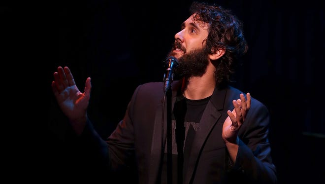 Josh Groban performs during the Hillary Victory Fund - Stronger Together concert at St. James Theatre on October 17, 2016 in New York City.