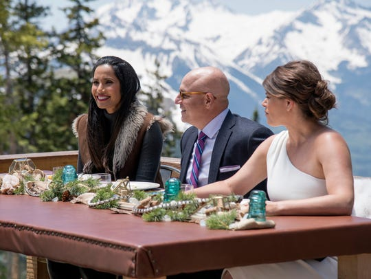 Padma Lakshmi, Tom Colicchio and Gail Simmons on 'Top Chef'