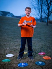 Cayson Irlbeck, 10, of Johnston, Iowa, is color deficient.