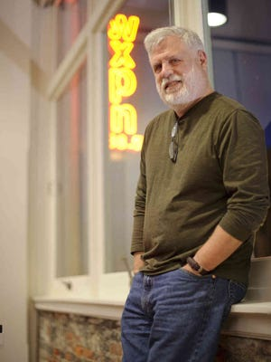 """After 25 years of hosting the syndicated, Philadelphia-based radio show """"World Cafe,"""" David Dye will step down as host this spring. He was photographed at Wilmington's World Cafe Live at the Queen in 2015."""