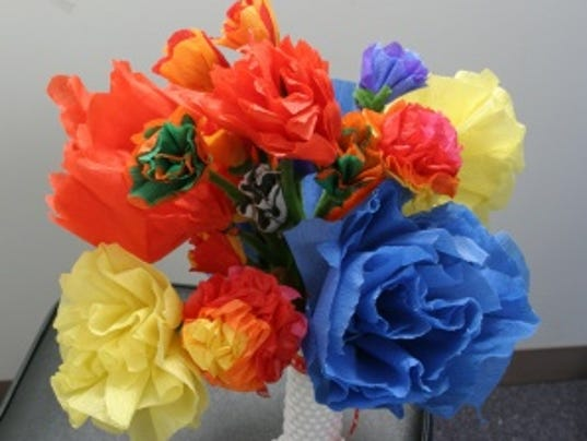 Day of the dead crafts easy paper flowers mightylinksfo Images