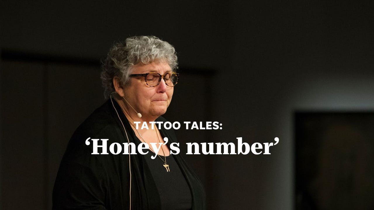 Celia tells the story behind her father's tattoo, and the promise she's made to herself that we all never forget.