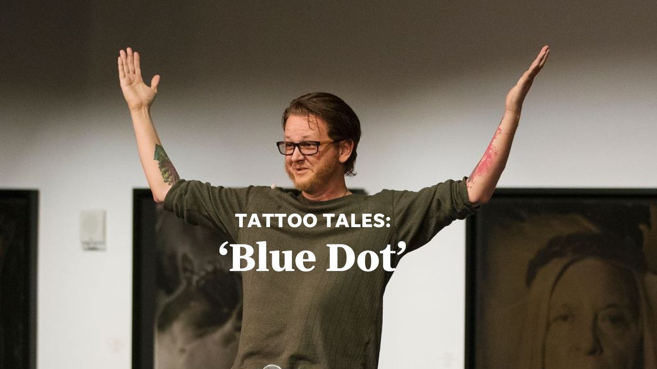 Matthew tells the story about how two different tattoos in his life — an expiration date and a blue dot —  have inspired him to live every day to the fullest and take nothing for granted.