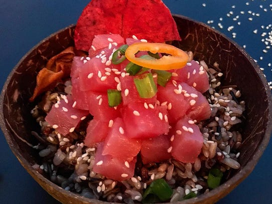 Surf Poke, opening in March on Route 9 in Lacey, will
