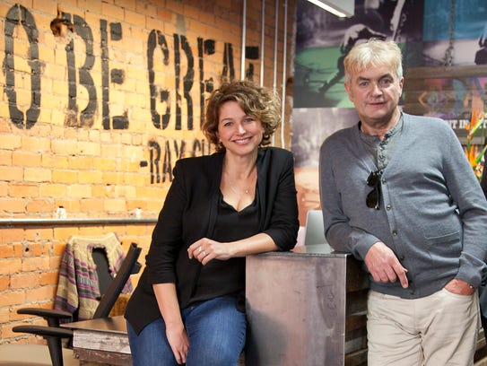 DIME co-founders Sarah Clayman and Kevin Nixon.