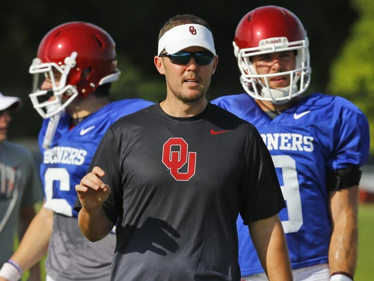 Oklahoma has high hopes and expectations for new offensive