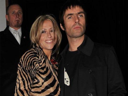 Nicole Appleton and Liam Gallagher
