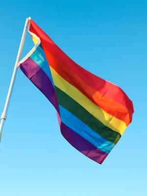 Rainbow, aka LGBT Pride, flag.