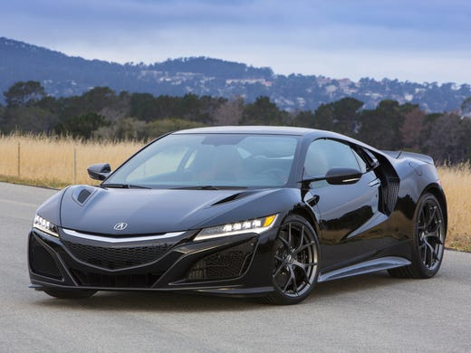 2017 Acura Nsx Has Aggressive Looks