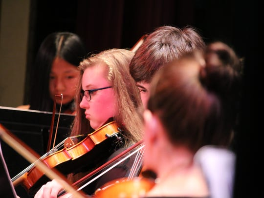 The Green Mountain Youth Symphony presents its spring