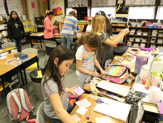 Mesa Verde Elementary students in Farmington are among