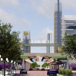 A rendering of the Creative Village Downtown Orlando campus.