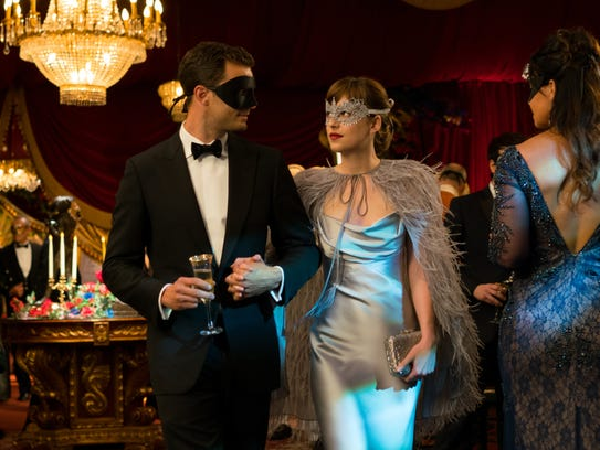 Jamie Dornan and Dakota Johnson reprise their roles