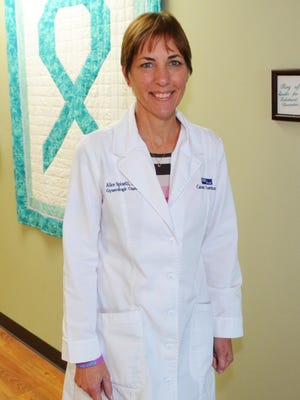 Alice Spinelli is a gynecologic oncology nurse practitioner for Health First Cancer Institute.