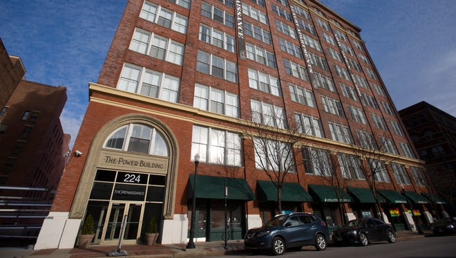 The owners of an apartment building on Eighth Street in downtown Cincinnati are asking council for a five-year tax abatement.